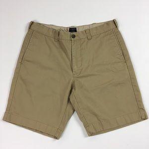 "J Crew 9"" Gramercy Shorts Men's 32"